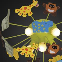 Люстра потолочная Citilux Зоопарк CL602151 Зоопарк