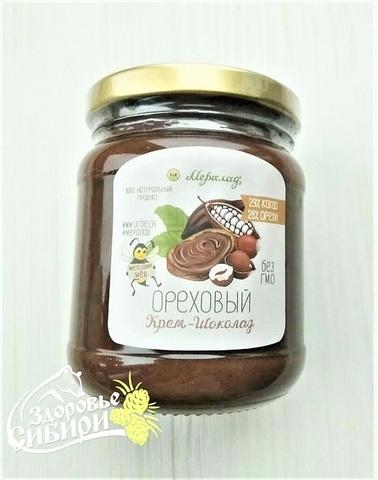 Шоколадный урбеч ореховый, 230 и 400 г