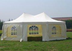 Садовый тент шатер Green Glade 1052 (8 граней)  Комплект из 2 коробок.