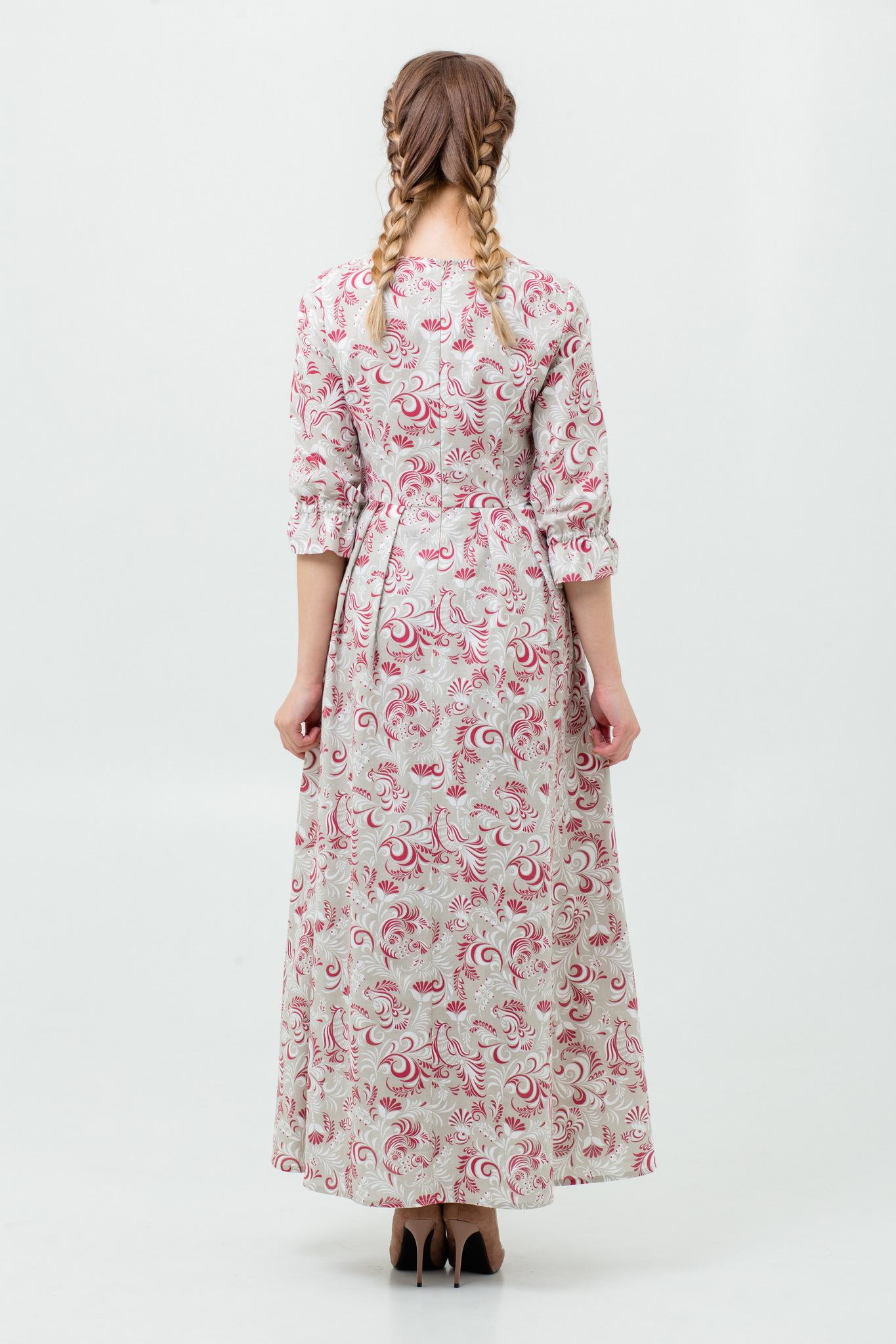Платье в русском стиле современное купить