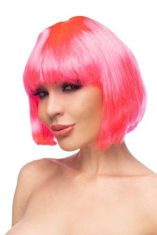 Ярко-розовый парик  Ахира