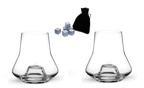 Набор бокалов 2 шт.  для дегустации виски артикул 266141. Серия Duo