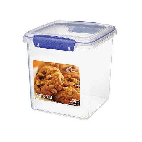 Контейнер для печенья KLIP IT 2,35л, артикул 1334, производитель - Sistema