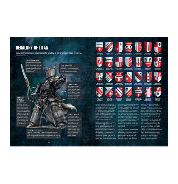 Codex: Grey Knights, страницы