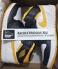 Air Jordan 1 Mid 'Black/White/Yellow' (Фото в живую)