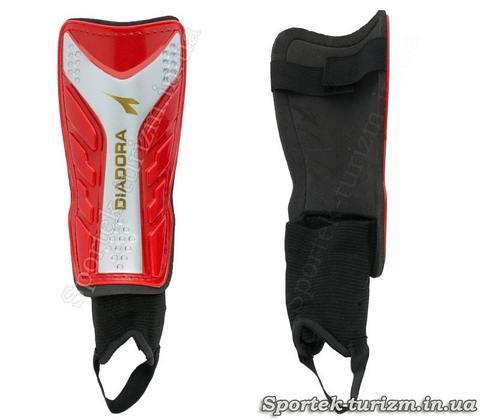 Щитки футбольные с защитой лодыжки DIADORA (FB-602P)
