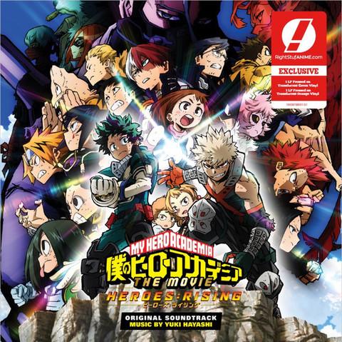 OST – My Hero Academia - Heroes Rising (Yuki Hayashi)
