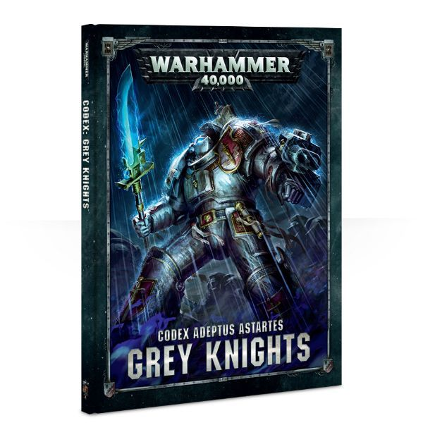 Codex: Grey Knights, обложка