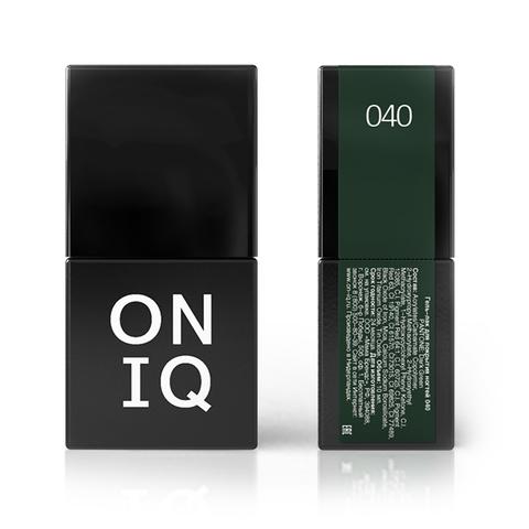 OGP-040 Гель-лак для покрытия ногтей. PANTONE: Dark Green