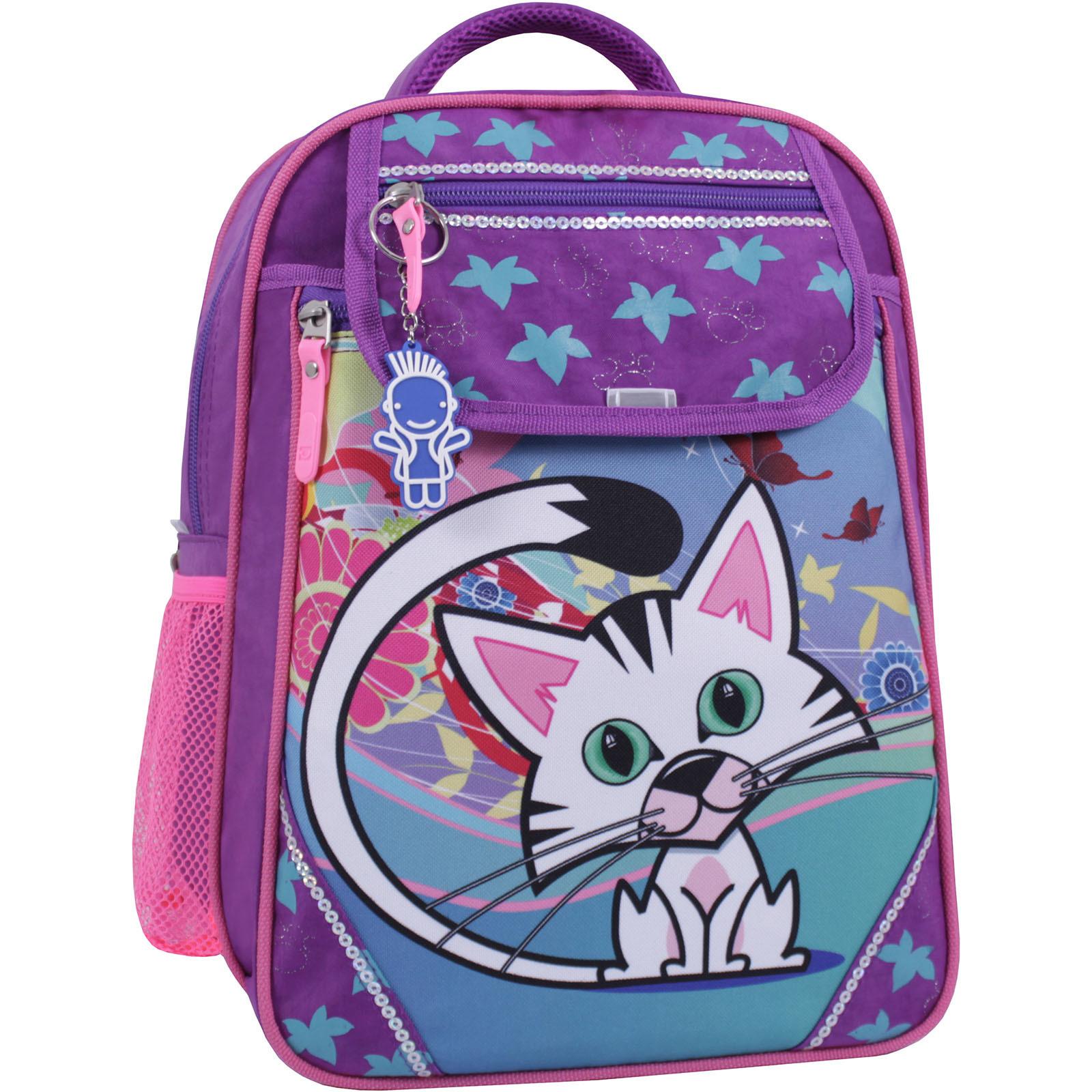 Детские рюкзаки Рюкзак школьный Bagland Отличник 20 л. 339 фиолетовый 502 (0058070) IMG_1119_суб.502_.JPG