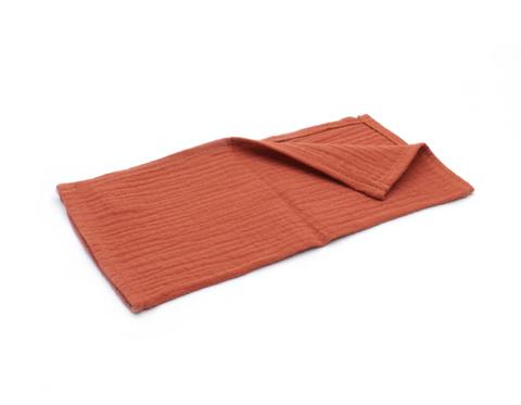 Муслиновая салфетка-терракот (25х25см)