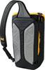 Картинка рюкзак однолямочный Jack Wolfskin Ecoloader 12 Bag Black - 4