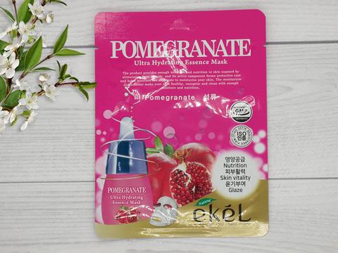 270163 EKEL Тканевая маска для лица с экстрактом граната Pomegranate