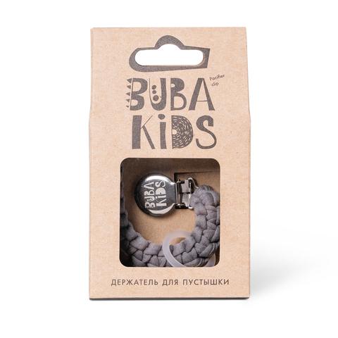 Прищепка-держатель для соски текстильный BUBA Kids Грозовое небо