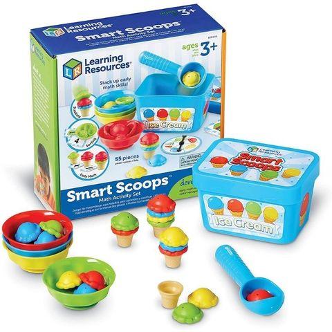 Развивающая игрушка Собери мороженое, с карточками (55 элементов) Learning Resources, арт. LER6315