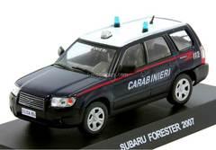 Subaru Forester 2007 Italian Carabinieri 1:43 DeAgostini World's Police Car #S3