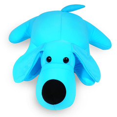 Подушка-игрушка антистресс Gekoko «Голубой Патрик» 2