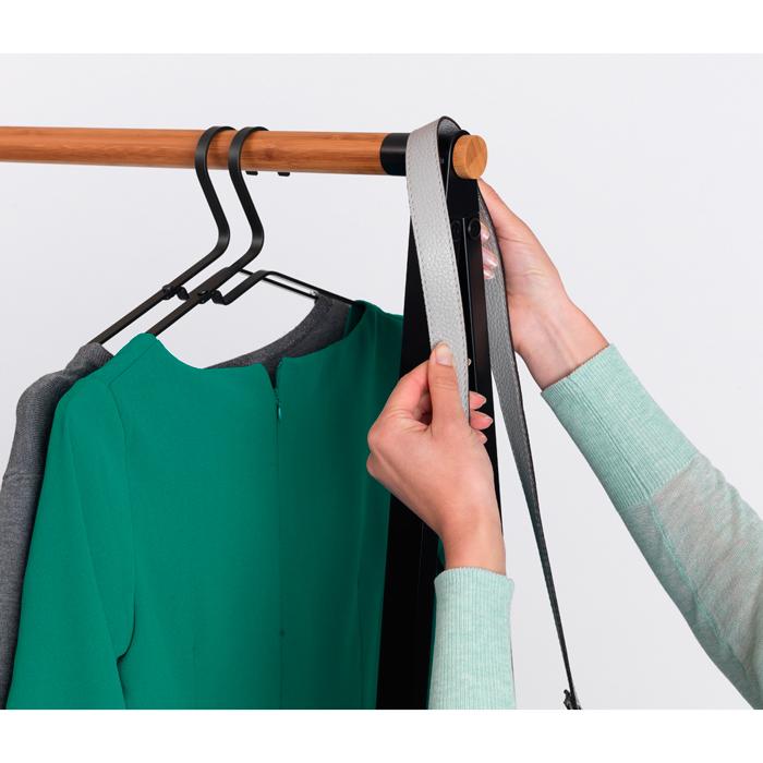 Вешалка для одежды LINN малая, Черный, арт. 118203 - фото 1