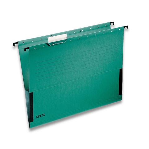 Подвесная папка Leitz А4 до 20 листов зеленая