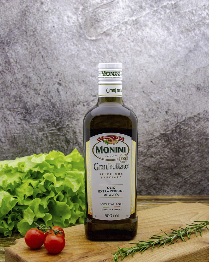 Масло оливковое Monini Экстра Вирджин Гран Фрутато 0,5 л.