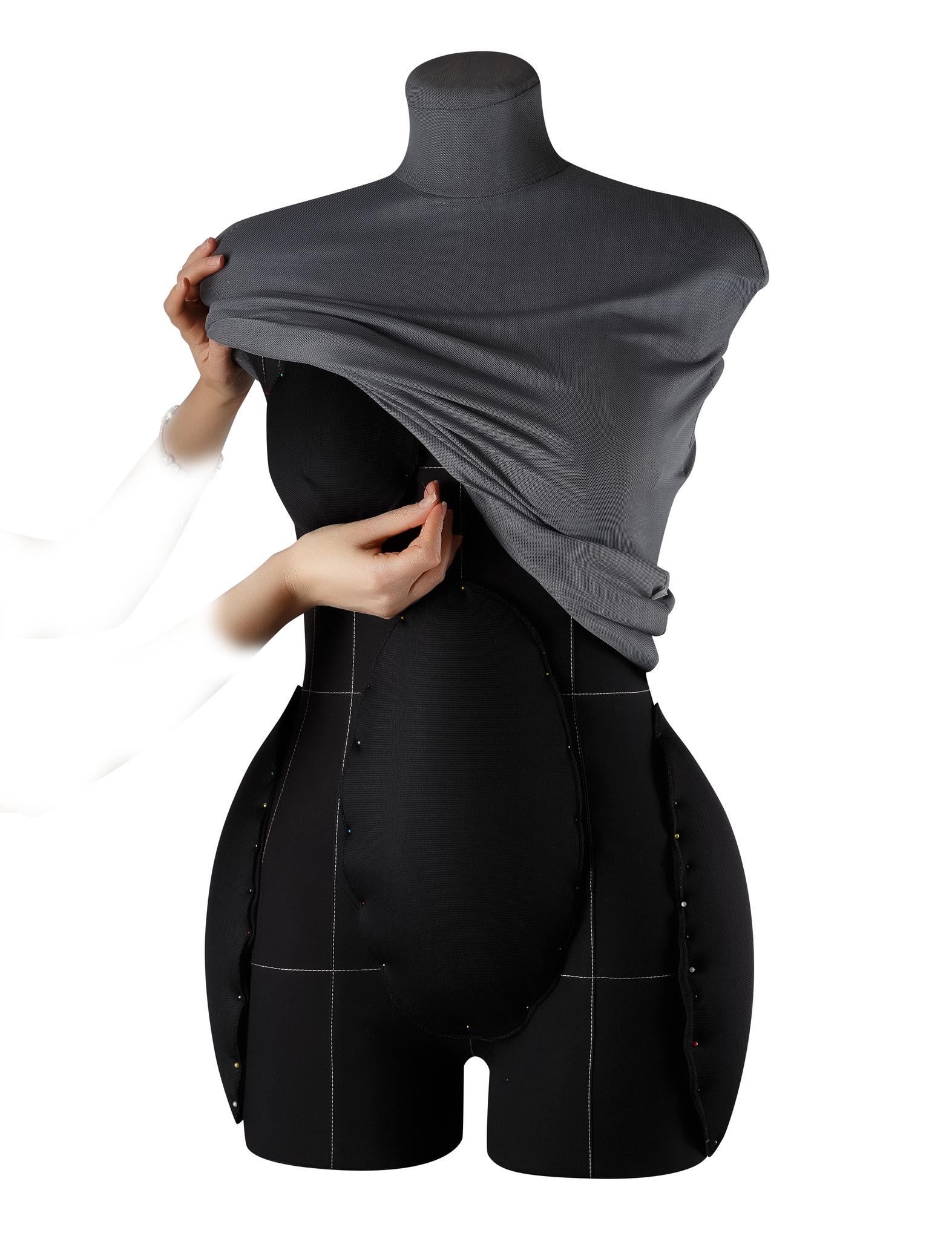 Накладки для манекена (черные) 46-50 размерФото 1