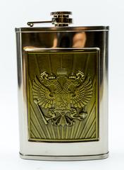 Фляжка «Герб Российской Империи», 270 мл, фото 5