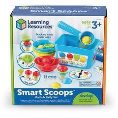 LER6315 Набор для сортировки Собери мороженое с карточками Learning Resources