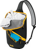 Картинка рюкзак однолямочный Jack Wolfskin Ecoloader 12 Bag Black - 3