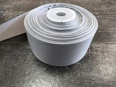 Лента репсовая 4см*25ярд (Серый №200)