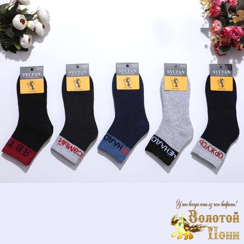 Носки махровые мальчику (6-12) 211003-R4016