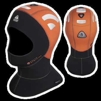 Неопреновый капюшон Waterproof 5/10 мм HVH POLAR EVO, оранжевый