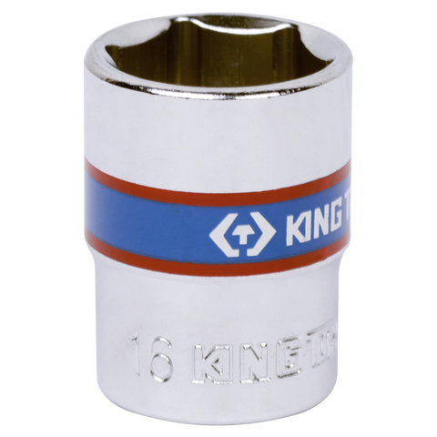 "Головка торцевая стандартная шестигранная 3/8"", 16 мм KING TONY 333516M"