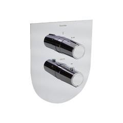 Встраиваемый термостатический смеситель для душа TZAR 348712S на 2 выхода