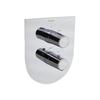 Встраиваемый термостатический смеситель для душа TZAR 348712S на 2 выхода - фото №1