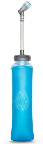Мягкая бутылка для воды с трубкой HydraPak Ultraflask (0,6 литра), голубая
