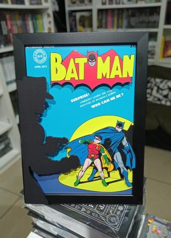 Диорама ручной работы. Batman #16 (1943)