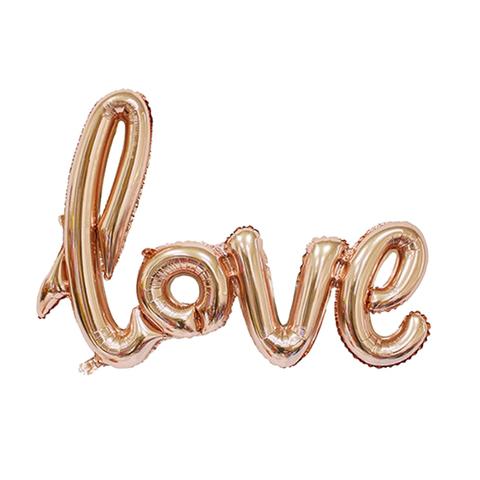 Love 104 см Розовое Золото