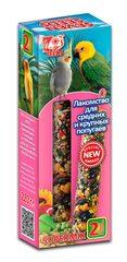 Палочки для средних и крупных попугаев с орехом и фруктами Seven Seeds Supermix