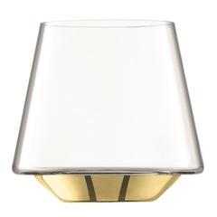 Набор из 2 бокалов для вина и воды Space, 430 мл, золото, фото 5