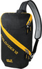 Картинка рюкзак однолямочный Jack Wolfskin Ecoloader 12 Bag Black - 1