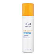 Солнцезащитный лосьон широкого спектра защиты SPF-30 с витамином С Professional-C Suncare SPF 30, Obagi Medical, 48 гр