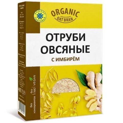 Отруби овсяные, Компас Здоровья, с имбирём, 200 г