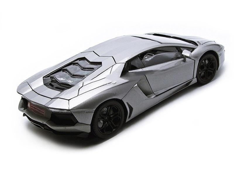 Коллекционная модель Lamborghini Aventador LP700-4 2011 Grey
