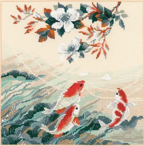 1574 Танцующие рыбки