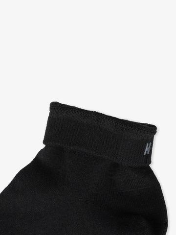 Men's black short socks