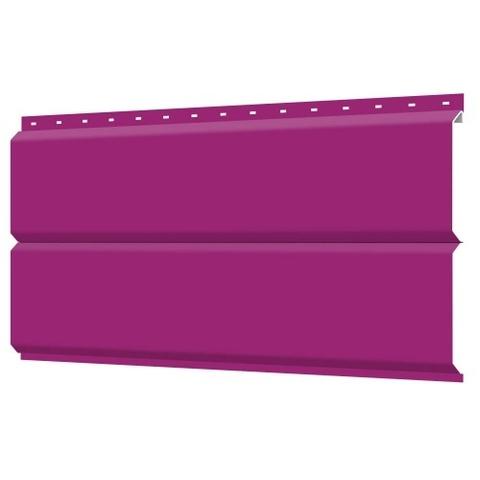 Евробрус сайдинг металлический RAL 4006 пурпурный