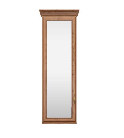 Шкаф навесной Венеция 28 с зеркалом Ижмебель клен торонто