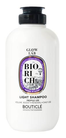 Шампунь для поддержания объёма для волос всех типов - Bouticle Biorich Light Shampoo 250 мл