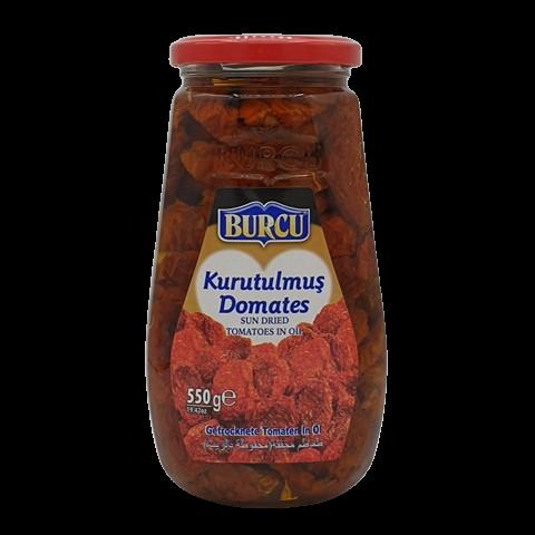 Томаты сушёные в подсолнечном масле BURCU, 550 гр
