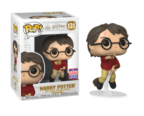 Funko POP! Harry Potter Harry Flying with Winged Key (FunKon 2021) (Exc)